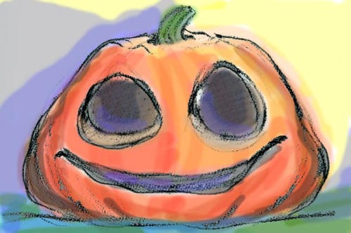 saggy pumpkin